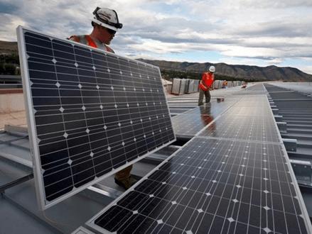 Solar panels setup in Australia